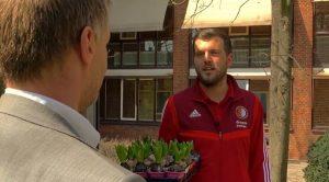 Feyenoord Academy verrast bewoners van Humanitas