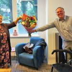 Astrid Langstraat ontvangt gouden Humanitasspeld